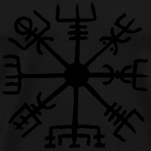 Vegvisir, Magic, Runes,  Protection & Navigation Sweaters - Mannen Premium T-shirt