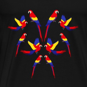 Macaws H Sweaters - Mannen Premium T-shirt