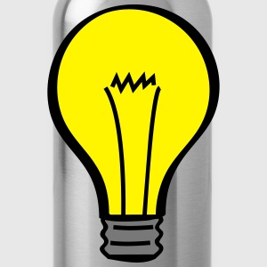 light bulb T-Shirts - Water Bottle