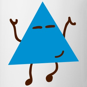 dancing hipster triangle dansande hipster triangel T-shirts - Mugg
