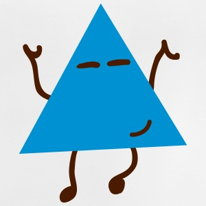 dancing hipster triangle dansende hipster trekant T-shirts - Baby T-shirt