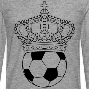 king of soccer T-Shirts - Men's Premium Longsleeve Shirt
