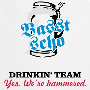 drinkin' team - yes. we're hammered (2c) T-Shirts - Cooking Apron