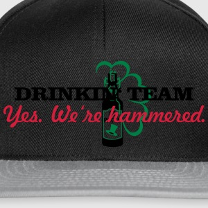 drinkin' team - yes. we're hammered (2c) T-Shirts - Snapback Cap