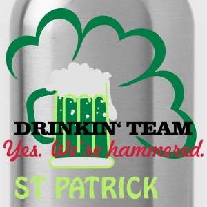drinkin' team - yes. we're hammered (2c) T-Shirts - Water Bottle
