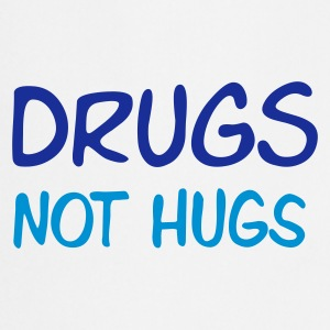 drugs - not hugs - Keukenschort