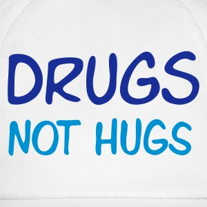 drugs - not hugs - Baseballcap