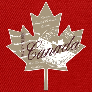 Canadian Maple Leaf T-Shirts - Snapback Cap