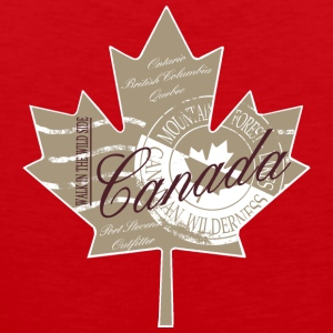 Canadian Maple Leaf T-Shirts - Männer Premium Tank Top