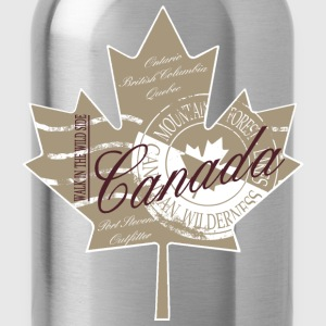 Canadian Maple Leaf T-Shirts - Trinkflasche