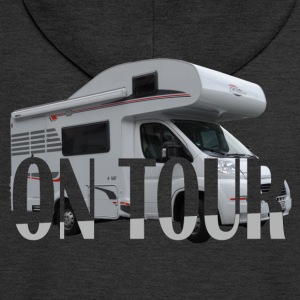 on Tour T-Shirts - Männer Premium Kapuzenjacke