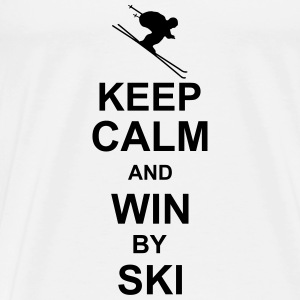 keep_calm_and_win_by_ski_g1 Tank Tops - Men's Premium T-Shirt