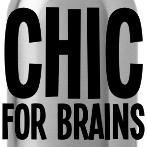 CHIC For Brains T-Shirts - Water Bottle