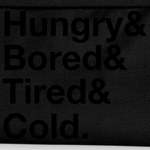 Hungry, Bored, Tired, Cold T-Shirts - Kinder Rucksack