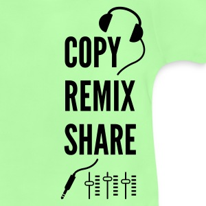 copy remix share - Baby T-Shirt