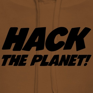 Hack the Planet ! T-Shirts - Women's Premium Hoodie