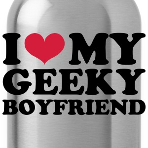 I Love my Geeky Boyfriend T-shirts - Drinkfles