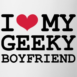 I Love my Geeky Boyfriend T-shirts - Mok