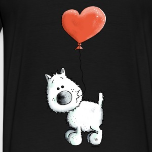 West Highland White Terrier - Chien Sweats - T-shirt Premium Homme