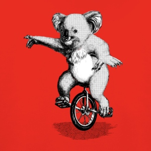 Koala Unicycle T-Shirts - Kinder Premium Hoodie