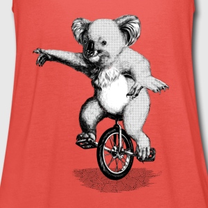 Koala Unicycle T-Shirts - Frauen Tank Top von Bella