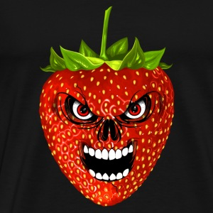 strawberry - fraise - skull Tops - Men's Premium T-Shirt