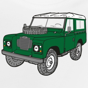 Land Rover Landie 4x4 Off-Road Series 3 88 Shirts - Baby T-shirt