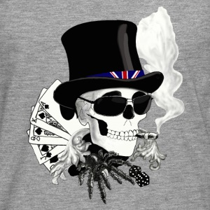 skull_londres Tee shirts - T-shirt manches longues Premium Homme