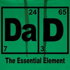 DAD-THE ESSENTIAL ELEMENT T-Shirts - Men's Premium Hoodie