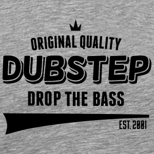 Original Dubstep - Drop The Bass Langarmshirts - Männer Premium T-Shirt