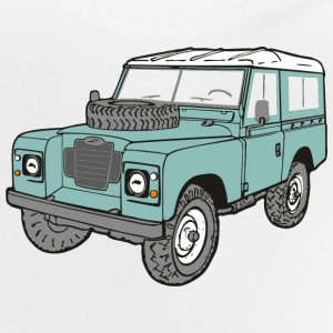 Landy 4x4 Land Rover Serie3 T-Shirts - Baby T-Shirt