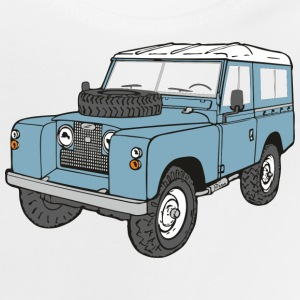 Landy Land Rover Serie2a 4x4 Offroad T-Shirts - Baby T-Shirt