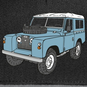 Landy Land Rover Series2a 4x4 Off-Road Shirts - Snapback Cap