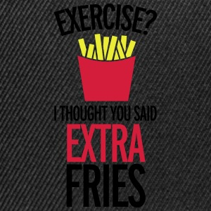 Extra Fries T-Shirts - Snapback Cap