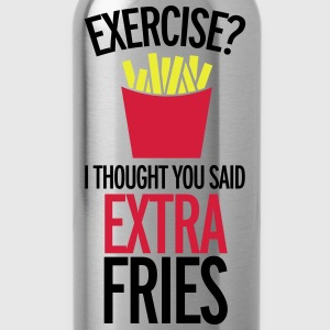 Extra Fries T-shirts - Vattenflaska