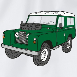 Landy Land Rover Defender Serie Jeep T-Shirts - Turnbeutel
