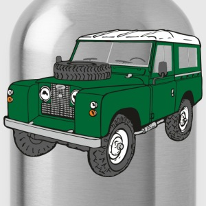 Landy Land Rover Defender Serie Jeep T-Shirts - Trinkflasche