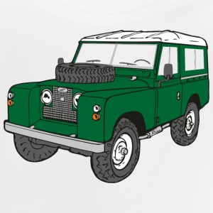 Landy Land Rover Defender Serie Jeep T-Shirts - Baby T-Shirt