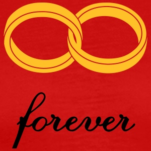 wedding rings forever Tank Tops - Herre premium T-shirt