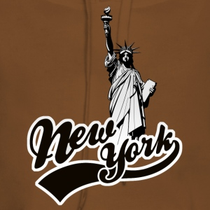 new york usa Tee shirts - Sweat-shirt à capuche Premium pour femmes
