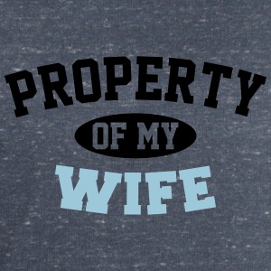 Property Of My Wife T-Shirts - Men's Sweatshirt by Stanley & Stella