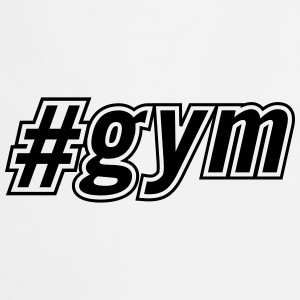 Gym Hashtag # T-shirts - Keukenschort