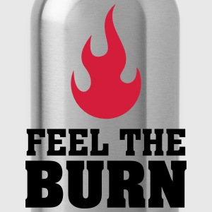 Feel The Burn (Flame) Camisetas - Cantimplora