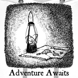 Adventure Awaits Shirts - Men's Premium Hoodie