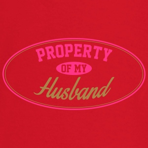 PROPERTY OF MY HUSBAND Underwear - Baby Long Sleeve T-Shirt
