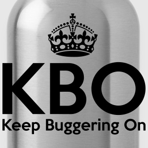 KBO - Keep Buggering on T-Shirts - Water Bottle
