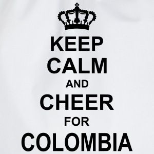 keep_calm_and_cheer_for_colombia_g1 T-shirts - Sportstaske