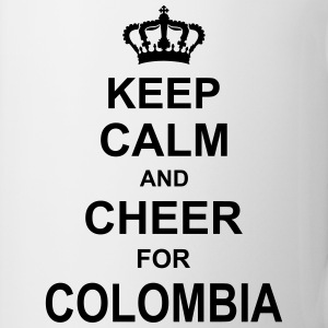 keep_calm_and_cheer_for_colombia_g1 Magliette - Tazza