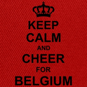 keep_calm_and_cheer_for_belgium_g1 Magliette - Snapback Cap