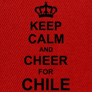 keep_calm_and_cheer_for_chile_g1 Delantales - Gorra Snapback